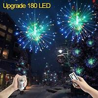 Hanging Firework LED Fairy Wire String Light Christmas Wedding Decor 8Modes