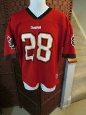 Warrick Dunn Tampa Bay Buccaneers jersey Logo 7 Size Adult Large