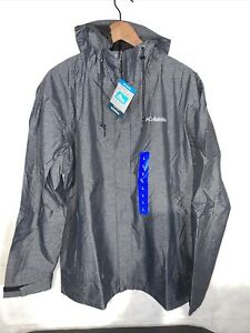 Mens Columbia Waterproof Lightweight Hooded Jackets. New Various Sizes.