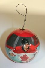 TEAM CANADA. SIDNEY CROSBY - 2010 OLYMPIC GOLD MEDALIST CHRISTMAS BALL ORNAMENT