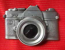 3D CLASSIC 35MM VINTAGE CAMERA PHOTO PHOTOGRAPHY RETRO BELT BUCKLE