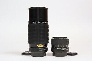 Pentax-A 70-200mm f4 Zoom Lens, Pentax-A 35-70mm f3.5-4.5 Zoom Lens