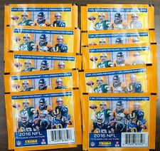 (10) 2016 PANINI NFL STICKERS COLLECTION 10 PACKS WITH 7 STICKERS PER PACK NEW