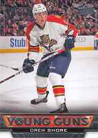 13/14 UPPER DECK YOUNG GUNS ROOKIE RC #221 DREW SHORE PANTHERS *27820