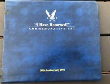 """1994 General MacArthur """"I Have Returned"""" Commemorative Set Stamps & Coin"""
