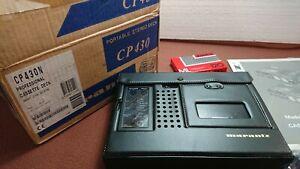 Professional Stereo Deck Walkman Marantz CP430(Bro Sony TC-D5 M)NEW!!! Video.