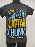 New Chunk! No Captain Chunk! Adult Mens Sizes XS-S-M-L-XL Band Concert Shirt