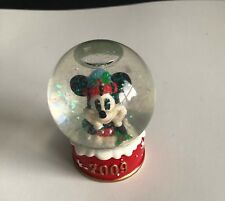2009 Disney Collectible Christmas Snowglobe JC Penney Mickey Mouse