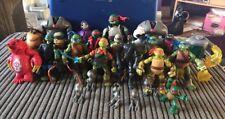 Viacom TMNT Teenage Mutant Ninja Turtles Figure Job Lot Bundle
