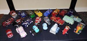 Disney pixar cars diecast lot #8 23 total vehicles new condition lose.