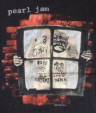 Vintage Pearl Jam Vs Versus Window Pane 1993 Canada tour tee shirt Rock Rare vtg