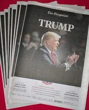Collectible President Donald J. Trump Newspaper Election Results Win MAGA Photo
