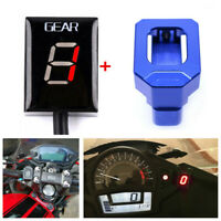 Motorbike Gear Display Indicator+Blue Indicator Stand For Honda CBR600 F4I 01-06