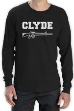 Clyde Long Sleeve T-Shirt Bonnie Matching Couple For Valentine's Day Love Te Top