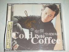 MusicCD4U Autograph CD VCD Sam Lee Li Sheng Jie - Cold Coffee 李聖傑冷咖啡親筆簽名台灣版