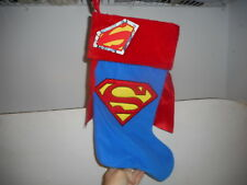 Superman Christmas Stocking - NWT