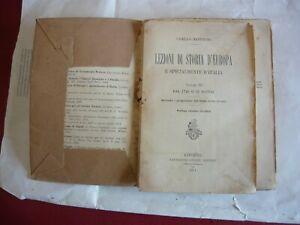 Camillo Manfroni - Lezioni di storia d'Europa - Livorno 1911