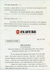 WILLIAM DOZIER THE TAMMY GRIMES SHOW RARE ORIGINAL 1966 ABC TV PRESS MATERIAL