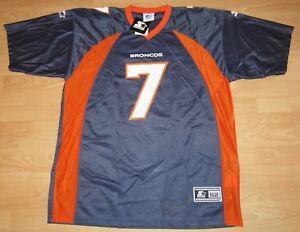 Denver Broncos John Elway #7 1998 Home Original Starter Jersey Size Men's 52