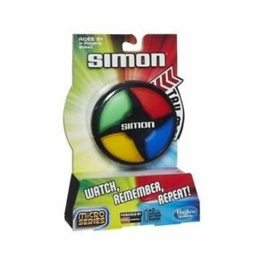 NEW HASBRO SIMON MICRO SERIES ELECTRONIC GAME B0640