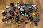 Large Collection of Gobots Transformers Micromasters Tentakill Parts More