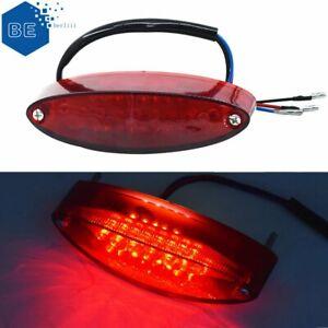 28 LED Motorcycle ATV 12V Red Dirt Bike Brake Stop Running Tail Light Universal