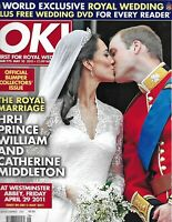 Kate Middleton OK Magazine Prince William Royal Wedding Collector's Issue 2011