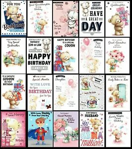 QUALITY ~ CUTE BIRTHDAY CARDS ~ ONLY 99p Each Card ~ SOMETHING FOR EVERYONE