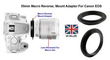 55mm Macro Reverse Adapter  for Canon EOS Digital or SLR Body