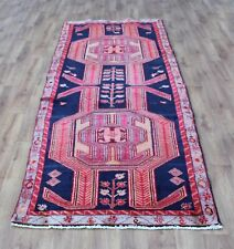 Traditional Vintage Wool Handmade Classic Oriental Area Rug Carpet 315X120cm