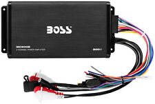BOSS MC900B 4-CHANNEL BLUETOOTH COMPACT MARINE ATV MOTORCYCLE CAR AMPLIFIER AMP
