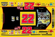 #22 Ward Burton Cat Engines 2001 1/43rd Scale Slot Car Decals