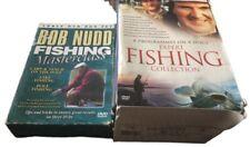 Expert Fishing Collection 8 Programme Discs Plus Bob Nudds Fishing Masterclass