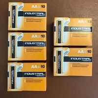 X 50 Duracell Aa Industrial BaterÍa Alcalina 1.5vV MN1500 LR6 Mignon Longest Exp
