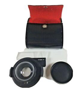 Star-D Aux. Telephoto Lens for Nikon L35AF -  made in Japan
