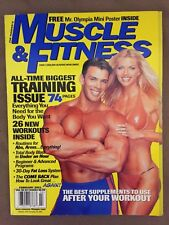 Muscle & Fitness Bodybuilding Magazine/ February 2001/FRANK SEPE/KRISTIA KNOWLES