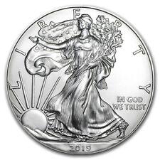 2019 1 oz Silver Bullion American Eagle coin Single MintDirect BU