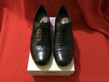 Womens Clarks Black Software Brogues Size 6 1/2 D