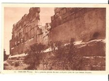 Lebanon Old Postcard Middle East the 3 Great Stones of Cyclopean Wall Baalbek