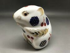 Royal Crown Derby Mouse Paperweight (no box or stopper )