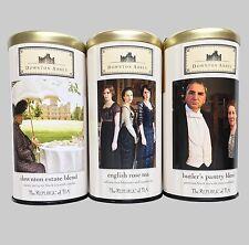 REPUBLIC of TEA DOWNTON ABBEY Lot Set of 3 Estate Blend English Rose Butler's