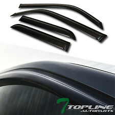Topline For 2010-2018 Toyota 4Runner Sun Rain Guard Vent Shade Window Visors 4pc