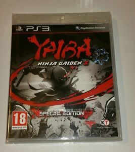 Yaiba Ninja Gaiden Z PS3 New Sealed UK PAL Sony PlayStation 3 Special Edition