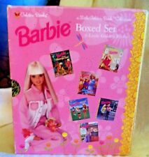 1998 Barbie a Little Golden Book Box Set Collection of Six~Books~ good condition