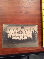 Vintage Real Photo Soccer or Sport Team Post Card image postcard