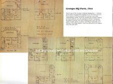 More details for inmates sketch of gestapo hq paris 1944 before liberation  hardback war map