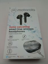 Motorola Noise Cancelling Smart True Wireless Headphones Verve Buds 800