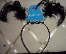 Black Head Bopper Head Band