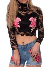 Maglie e camicie da donna Floreale Aderente Taglia 42