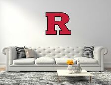 Rutgers Scarlet Knights NCAA Football Wall Decal Vinyl Sticker For Room Home
